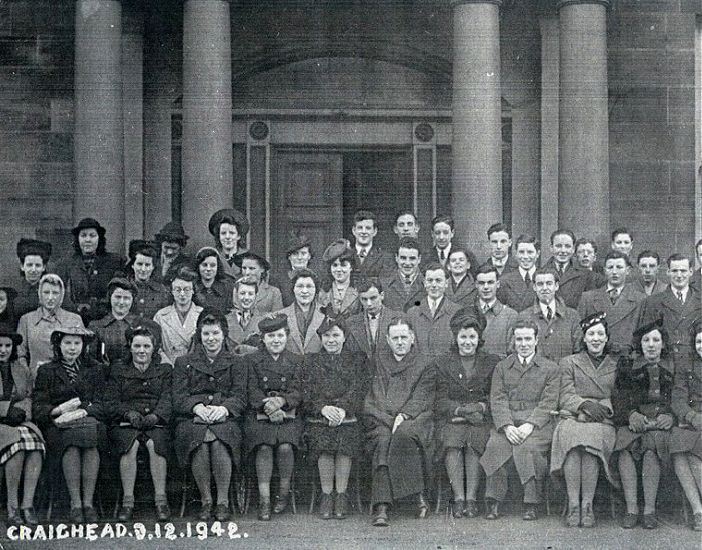 Criaghead group in 1942