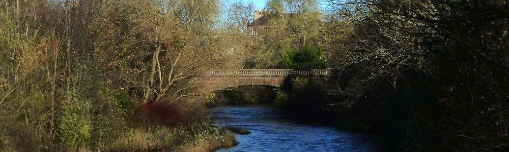 River Kelvin at Kelvingrove