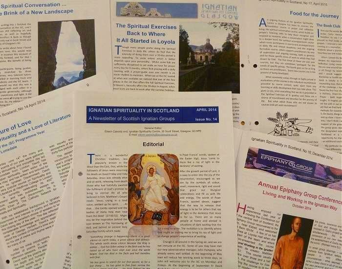 Scottish Spirituality Newsletters
